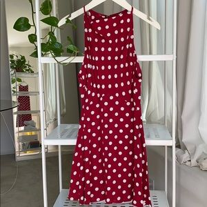 polka dot summer dress 🐞